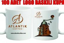 Kupa bardak üzerine Logo Baskı