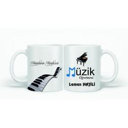 Müzik Öğretmenine Hediye Kupa