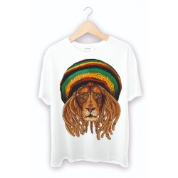 Beyaz Erkek Tişört - Bob Marley