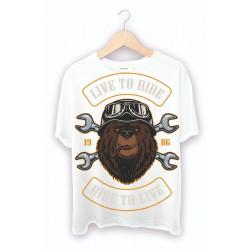 Kendin Tasarla Beyaz Tişört - Custom Baskılı Tişört