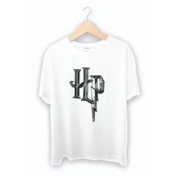 Harry potter Logo Baskılı Tişört