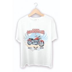 Baskılı Tişört - Motorcu Baskılı tişörtler