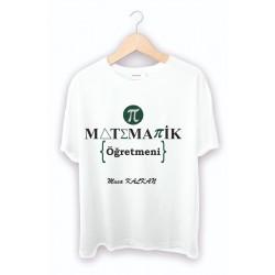 Matematik Öğretmenine hediye tişört