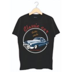 Araba Tutkunlarına Baskılı Tişört