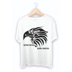 Taraftar Baskılı Tişört - Kartal Baskılı tişört