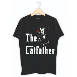 The Cat Father - Kişiye özel baskılı tişört
