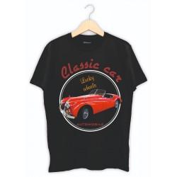 Klasik Otomobil Baskılı Tişört