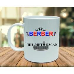 Berberlere Özel Kupa Bardak Tasarımı