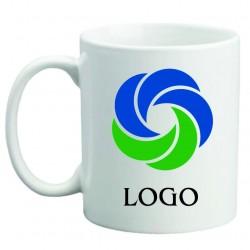 Logolu porselen kupa