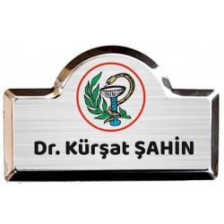 Metal Yaka İsimlikleri - Metal Yaka kartları - Hastanelere özel yaka kartları