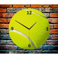 İlginç Hediyeler Tenis Topu Baskılı Duvar Saati