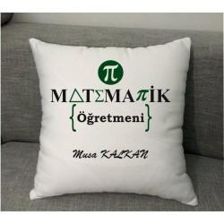 Matematik Öğretmenlerine Dekoratif Yastık Modelleri